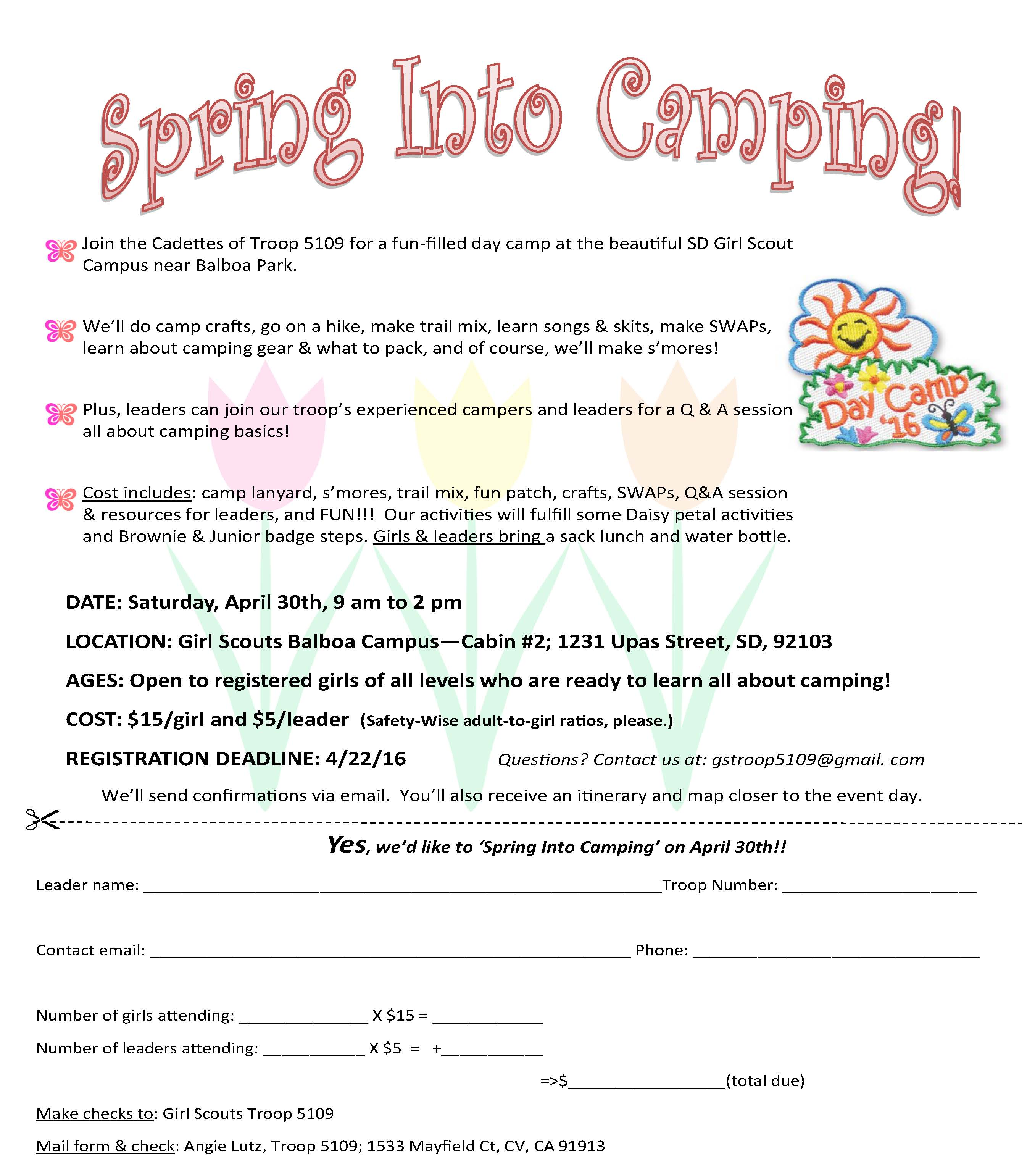 Spring into Camping [987387]
