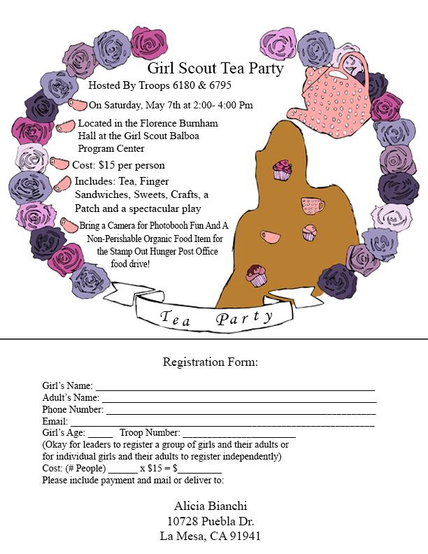 TEA PARTY INVITE [1956990]